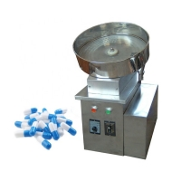 Quality 500W Single Plate Capsule Tablet Counting And Filling Machine wholesale