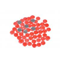 Cheap Lead Free Loose Hotfix Rhinestones Glass Material 12 / 14 Facets With Multi Colors for sale