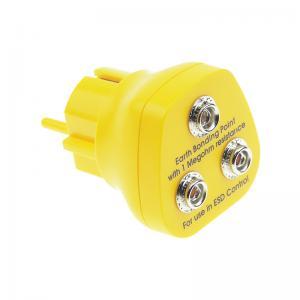 Quality Glossy Dull ABS EURO Antistatic Earth Bonding Plug wholesale