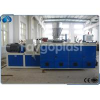 Quality Co Rotating Plastic Extruder Machine For PVC Compound / PVC Pipe Making Twin Screw wholesale