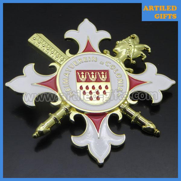 Heimatverein Colonia 3D metal pin badge 6