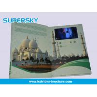 Quality 4.3 inch / 5 Inch TFT LCD Video Brochure , Folded LCD Greeting Card wholesale