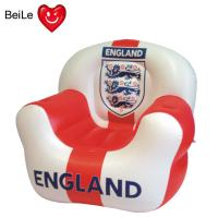 Quality Football team sign printed inflatable sofa for World Cup fans wholesale