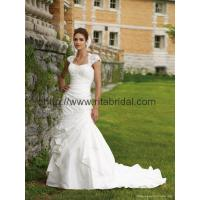 Quality wholesale and retail 2011 luxury long train wedding dress N-01 wholesale