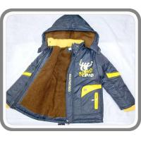 Quality New Arrival Fancy Boy's Thick Wram Padded Hoodies Jackets with Shihai EXPO Logo Kid's Wear BC0031 wholesale