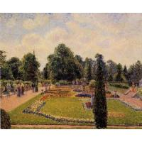 Quality Impressionist(3830) Kew_Gardens_-_Path_between_the_Pond_and_the_Palm_House wholesale