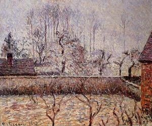 Cheap Impressionist(3830) Landscape,_Frost_and_Fog,_Eragny for sale