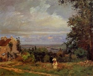 Cheap Impressionist(3830) Landscape_near_Louveciennes_2 for sale