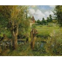 Quality Impressionist(3830) The_Banks_of_the_Epte_at_Eragny wholesale