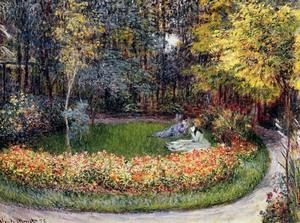Cheap Impressionist(3830) In_the_Garden for sale
