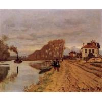 Impressionist(3830) Infantry_Guards_Wandering_along_the_River