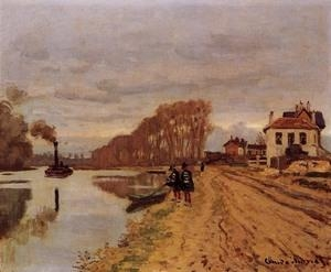 Cheap Impressionist(3830) Infantry_Guards_Wandering_along_the_River for sale