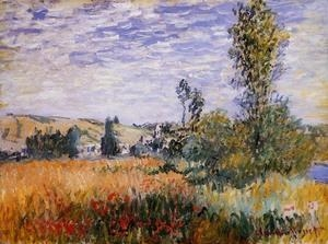Cheap Impressionist(3830) Landscape_at_Vetheuil for sale