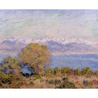 Impressionist(3830) The_Alps_Seen_from_Cap_d-Antibes