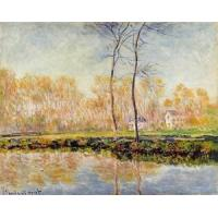 Impressionist(3830) The_Banks_of_the_River_Epte_at_Giverny