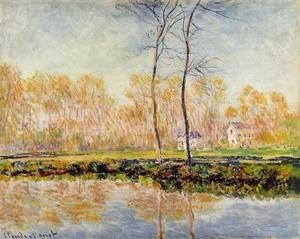 Cheap Impressionist(3830) The_Banks_of_the_River_Epte_at_Giverny for sale