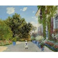 Quality Impressionist(3830) The_Artist-s_House_at_Argenteuil wholesale