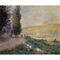 Quality Impressionist(3830) The_Banks_of_the_Seine,_Lavacour wholesale