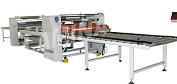 Cheap Quick WPC extrusion line hot stamping machine for sale