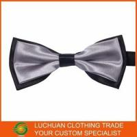 Quality Best Selling Shiny Satin Man Bow Tie wholesale