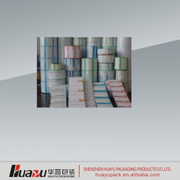 Cheap Sticker Permanent adhesive sticker label printing for sale