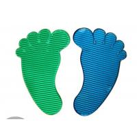 Quality P024 trade assurance supplier promotional PU foot shape sticky mat wholesale