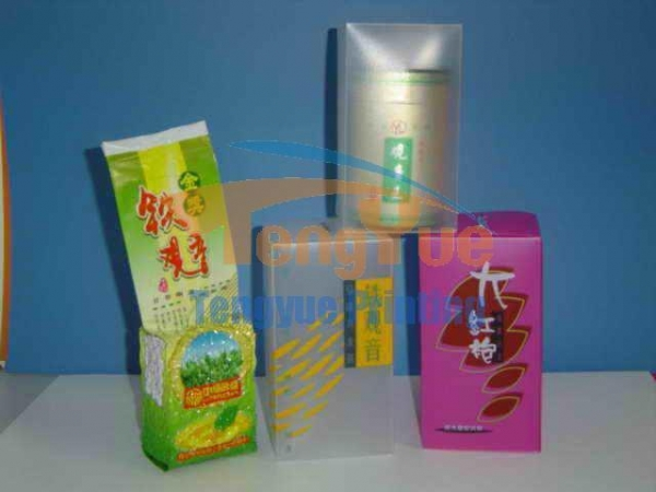 Cheap PP silver foil stamping packaging for sale