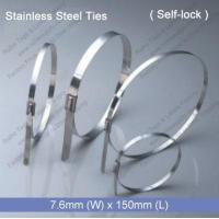 Quality E1272 Stainless Steel Tie (7.6mm x 150mm) wholesale