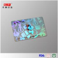 Quality Hologram Id Overlay Hologram embossed transfer overlay with laser effect wholesale