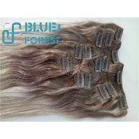 Quality Double Drawn Clip In Brazilian Hair Extension Large Stocks Any Color Size 8-30inch Customization Ava wholesale