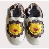 Quality Baby Cowskin shoes (Yellow Lion) wholesale