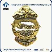 Quality Custom Collar Insignia, Tie Tacs & Bars for Police, Fire & Security DiaCast and 3D Process wholesale