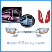 Quality Yaxing bus spare parts JS6905 headlamp, tail lamp, fog lamp wholesale