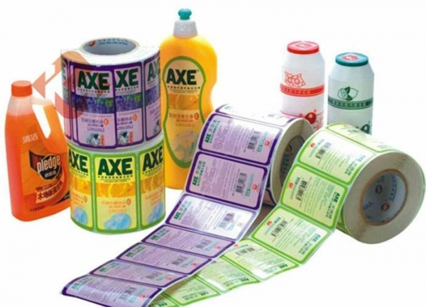 Cheap Custom Roll Printing Lables Roll Stickers Label Printing Paper Labels for sale