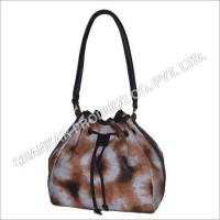 Quality Leather Tie & Die Hand Bag wholesale